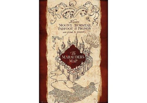 Poster |  Harry Potter Marauders Map