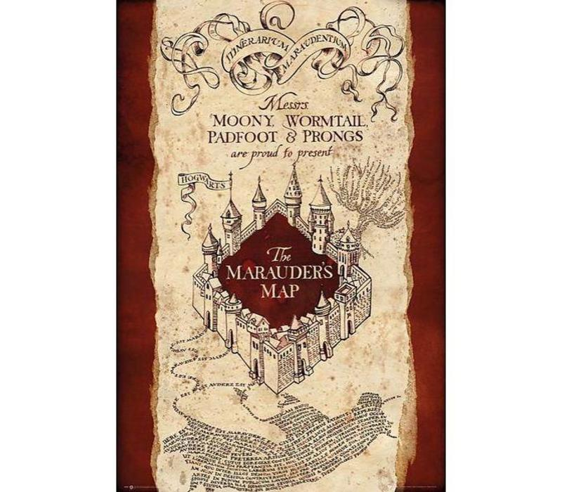 Poster 27 |  Harry Potter Marauders Map