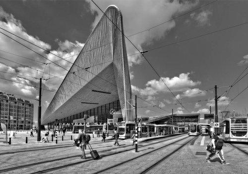 Ben Kleyn Rotterdam Centraal BlackWhite