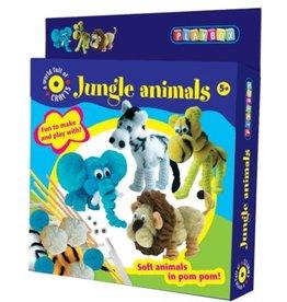 Playbox Jungle Animals- Pompondiertjes