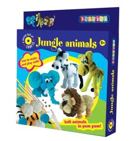 Playbox Jungle Animals- Pompondiertjes