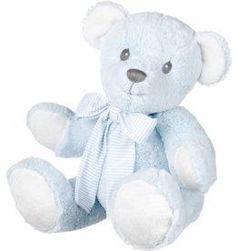 Mega grote blauwe knuffelbeer 75 cm
