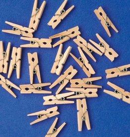Playbox Houten Wasknijpers 7,4 cm