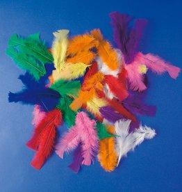 Playbox Gekleurde Kalkoenveertjes