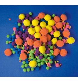 Playbox Groot Pakket Pomponnetjes Neonkleuren