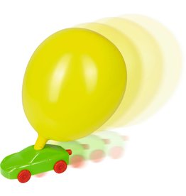Spiegelburg Ballon Auto's: Per 3