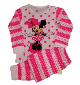 Pyjama Minnie Roze/wit