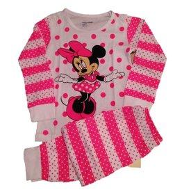 Pyjama Minnie Roze/wit