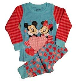 Pyjama Minnie met Hartjes