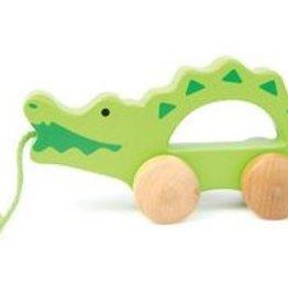 Hape Trekdier Krokodil Klein