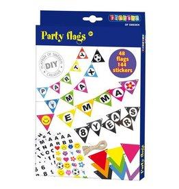 Playbox Party Flags - Zelf vlaggen maken