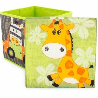 Ulysse Decoratieve Opbergbox Safari Giraf - Zebra