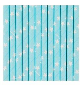 MLD Rietjes Blauw met Sterren (25 st)