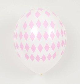 MLD Ballonnen Roze Diamant (5 st)