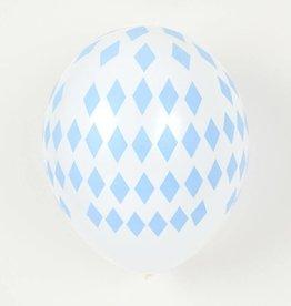 MLD Ballonnen Blauwe Diamant (5 st)