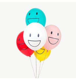 MLD Ballonnen Happy Faces (5 st)