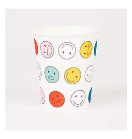 MLD Bekertjes Happy Faces (8 st)