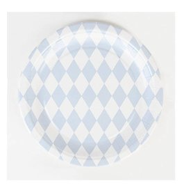 MLD Bordjes Blauwe diamant (8 st)
