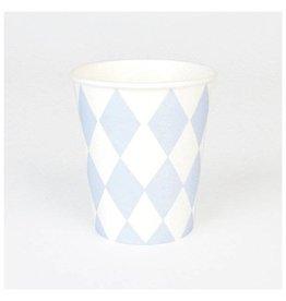 MLD Bekertjes Blauwe Diamant (8 st)
