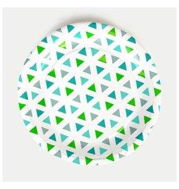 MLD Bordjes Driehoek Groen (8 st)