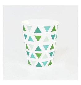 MLD Bekertjes Driehoek Groen (8 st)