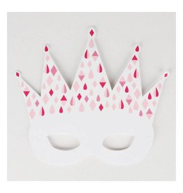 MLD Feest Maskers Prinses (8 st)