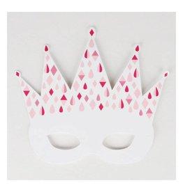 MLD Feest Maskers Prinses (8 st)