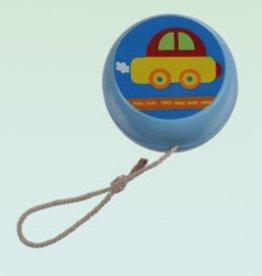 Blauwe Jojo met Auto
