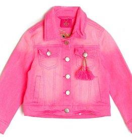 Mim-Pi Roze Jeans Jas