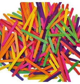 Playbox Doos met 2500 Gekleurde Houten Stokjes
