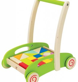 Hape Block & Roll Blokken Loopwagen