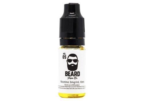Beard Vape Co. No.05 eLiquid by Beard Vape Co