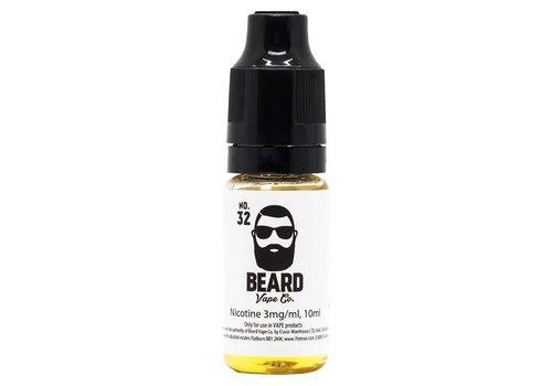 Beard Vape Co. No.32 eLiquid by Beard Vape Co