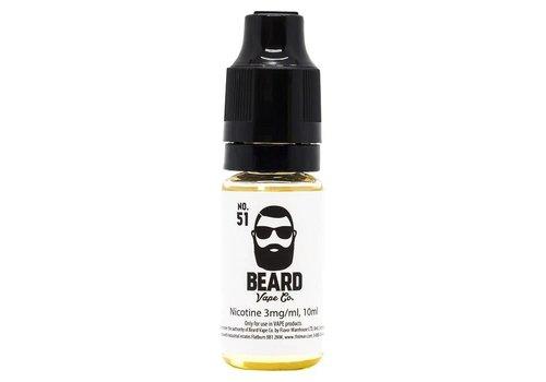 Beard Vape Co. No.51 eLiquid by Beard Vape Co