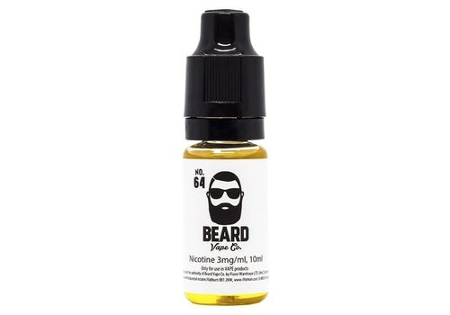 Beard Vape Co. No.64 eLiquid by Beard Vape Co