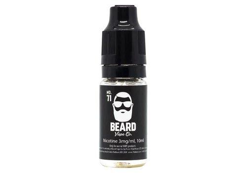 Beard Vape Co. No.71 eLiquid by Beard Vape Co