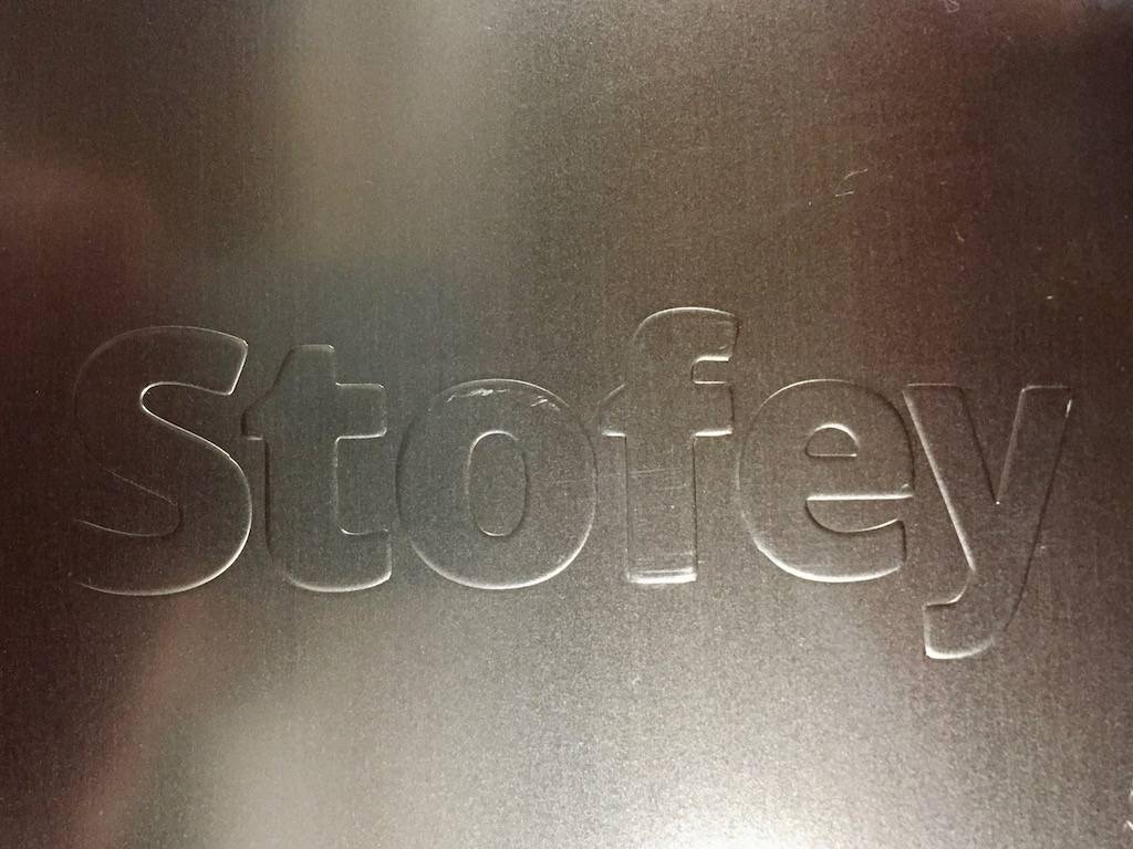Stofey Stofey XL rvs buitenhaard
