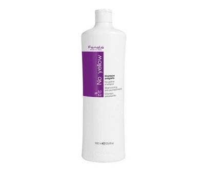 Fanola No Yellow Zilver Shampoo - 1000ml