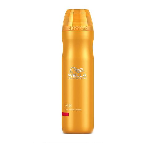 Wella Sun Hair and Body Shampoo 250ml