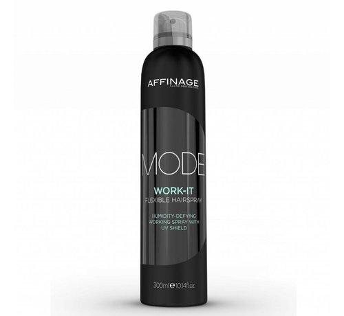 Affinage Mode Work It Flexible Hairspray 300ml