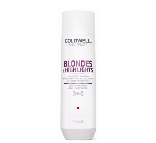 Goldwell Dualsenses Blondes & Highlights Anti-Yellow Shampoo