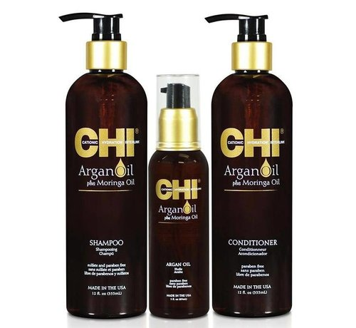 CHI Revival Argan Oil Set