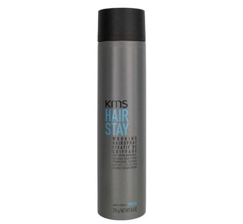 KMS California HairStay Working Hairspray - 300ml