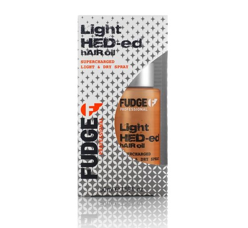 Fudge Light Hed-ed Hair Oil - 50ml