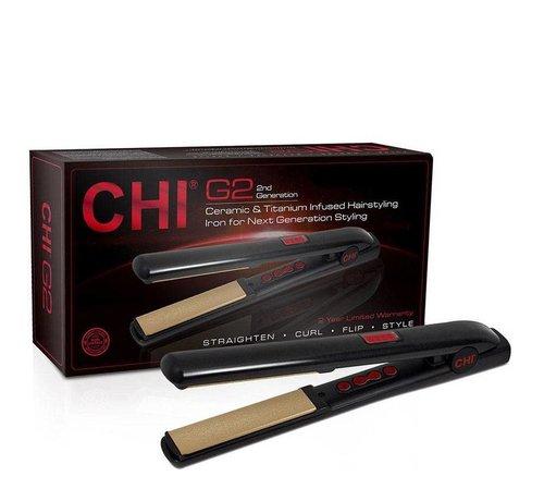CHI G2 Ceramic & Titanium Straightener - Auto Shut-off