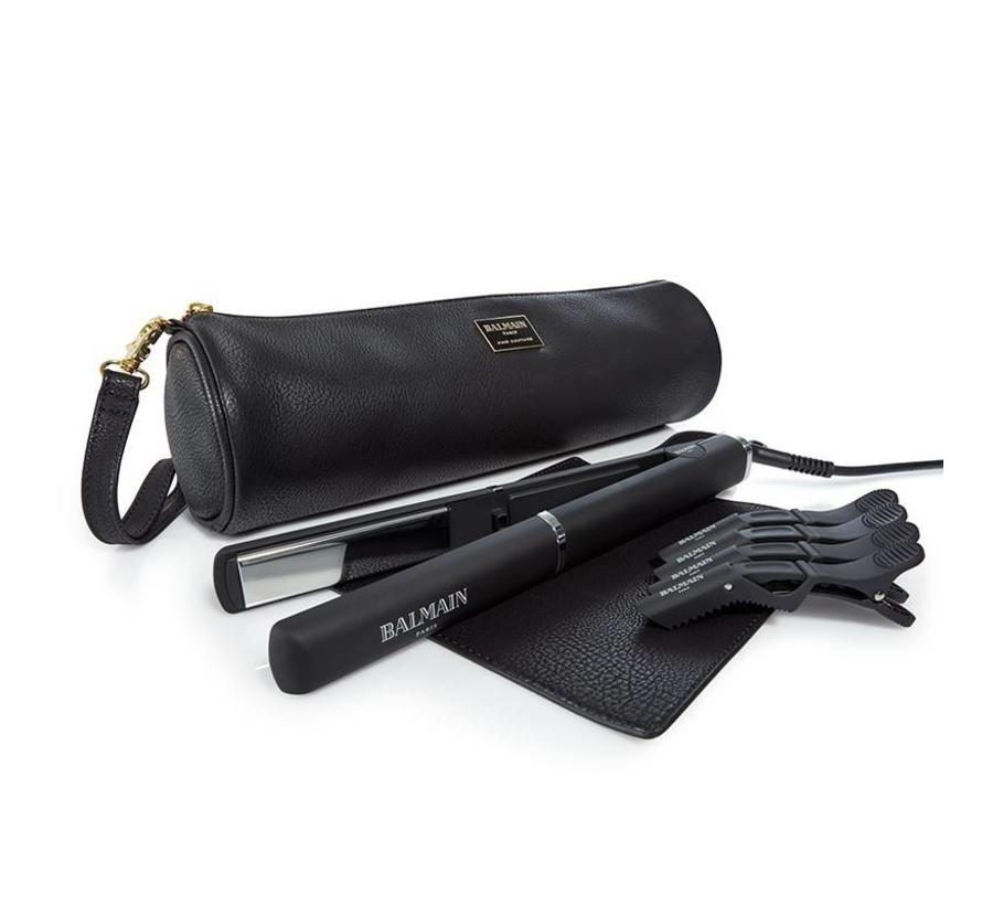 Professional Titanium Straightener / Curling Iron