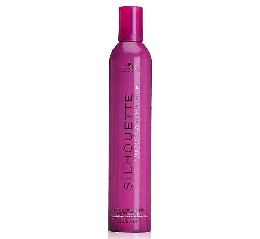 Silhouette Color Brilliance Mousse - Super Hold