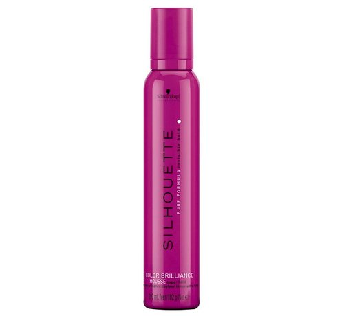 Schwarzkopf Silhouette Color Brilliance Mousse - Super Hold
