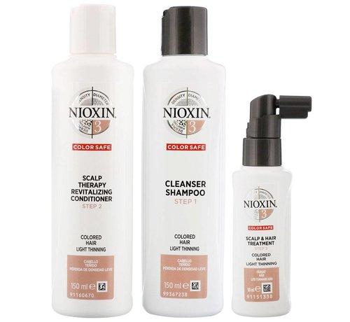 Nioxin System 3 - Trial Kit - 150x150x50ml