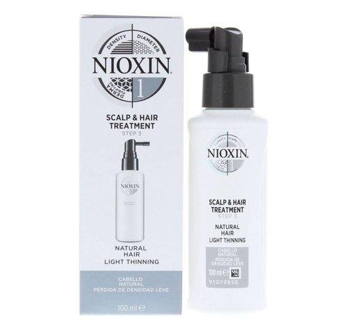 Nioxin System 1 - Scalp & Hair Treatment - 100ml